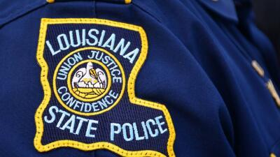 Policía de Louisiana.