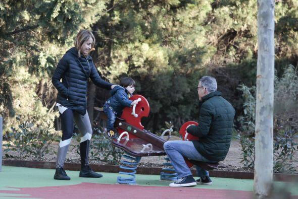 Pero quién se habrá divertido más: ¿el nieto o los abuelos? Mira aquí lo...