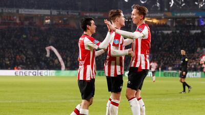 'Chucky' Lozano se lució con sus 'diabluras' en la goleada del PSV ante el Zwolle