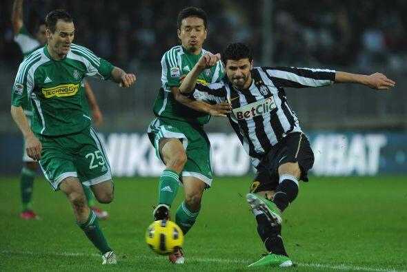 Otro equipo de renombre, la Juventus, chocó con el Cesena.
