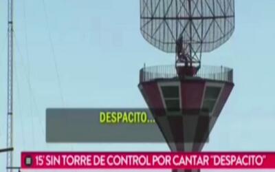 Video: Piloto bloquea las comunicaciones de aeropuerto de Buenos Aires c...