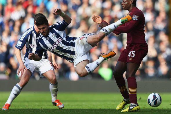 El Manchester City tuvo un partido más que complicado ante el West Bromw...