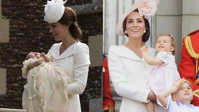 Otras ocasiones en que Kate Middleton usó el vestido (repetido) que lució en la boda real… de su cuñado