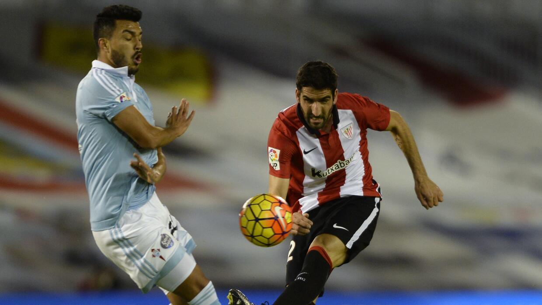 Raúl García anotó el gol del Athletic de Bilbao ante el Celta