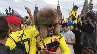 Colombia 'conquista' la Plaza Roja: la mancha amarilla quiere ser la reina de Rusia 2018