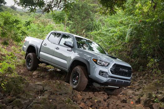 La Toyota Tacoma posee dos opciones de motor: uno de cuatro cilindros en...