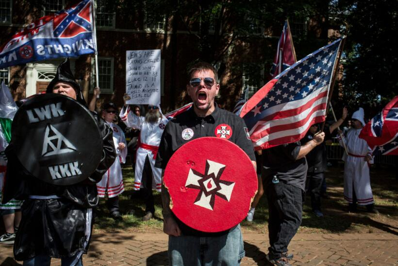 In photos: fears of white supremacy in Boston draw thousands to the stre...