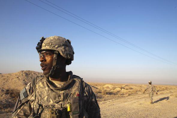 En cuanto a la venta de material militar estadounidense a Irak, estimó e...
