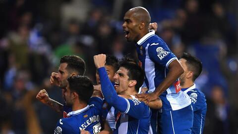 Óscar Melendo le dio el triunfo al Espanyol en el último m...