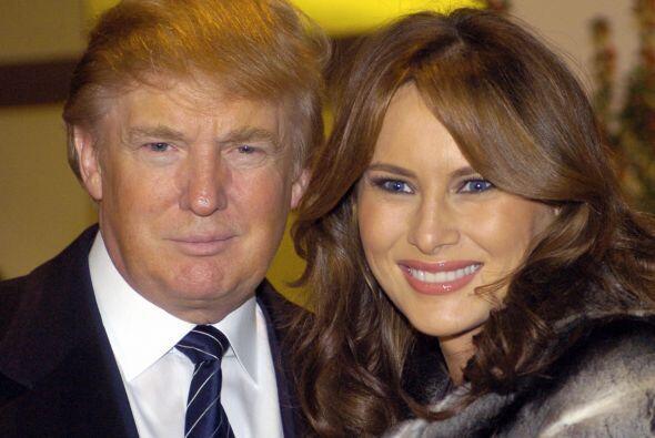 DONALD TRUMP Y MELANIA KNAUSS- Para su tercer matrimonio Trump de nuevo...