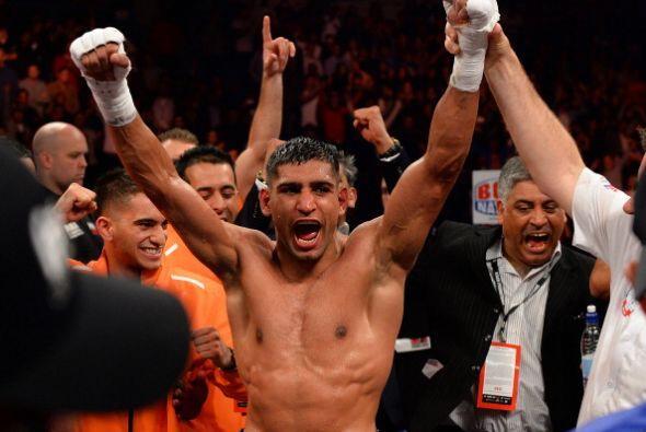 Khan celebró el triunfo contra Díaz, pero dejó muchas dudas en el aire.