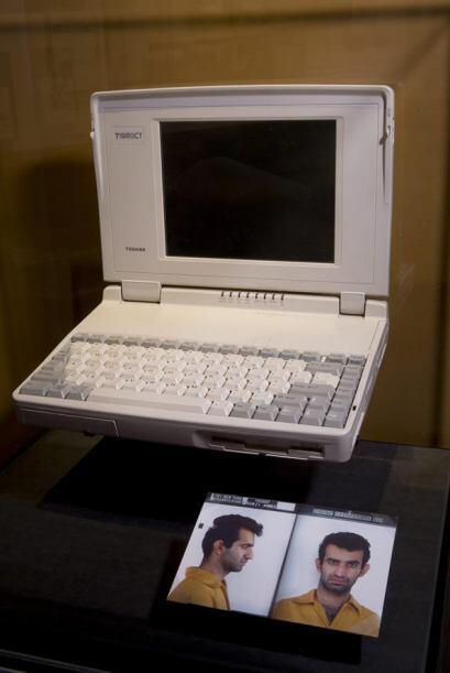 Imagen que muestra el ordenador que supuestamente pertenecía a Ramzi You...