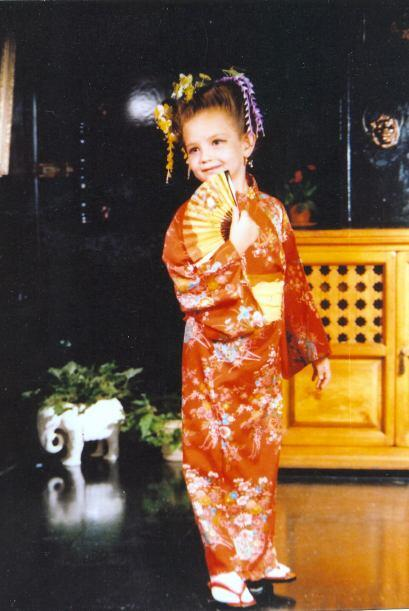 Ya tenía talento para ser una estrella y era sólo una niña.