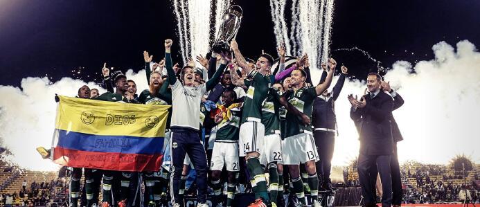 Portland Timbers, campeones de la MLS Cup