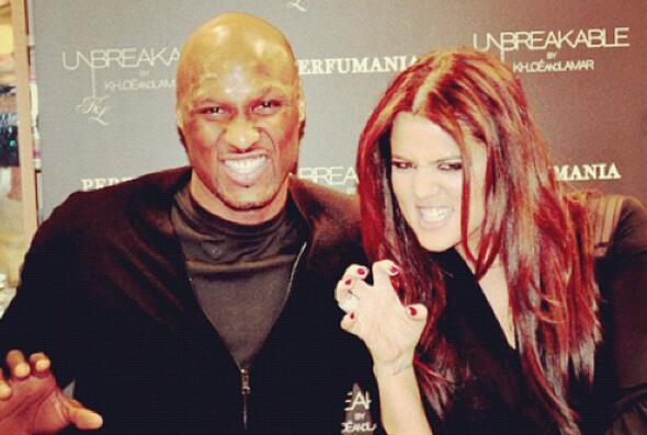 Lamar y Khloé