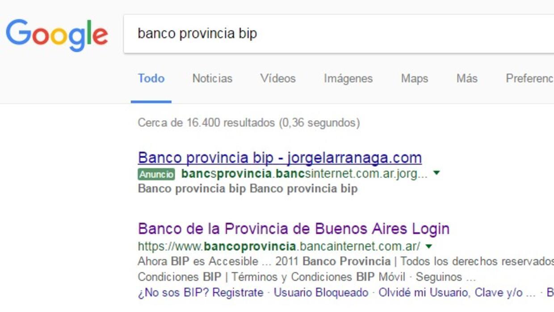 google search banco