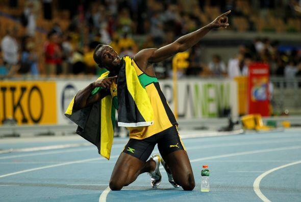 El jamaicano se llevó la victoria en los 200 metros.