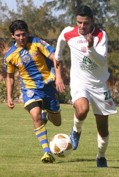Necaxa jugó su primer partido amistoso de la temporada y empat&oa...