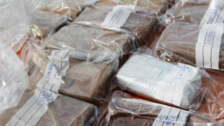 La droga estaba distribuida en 500 paquetes.