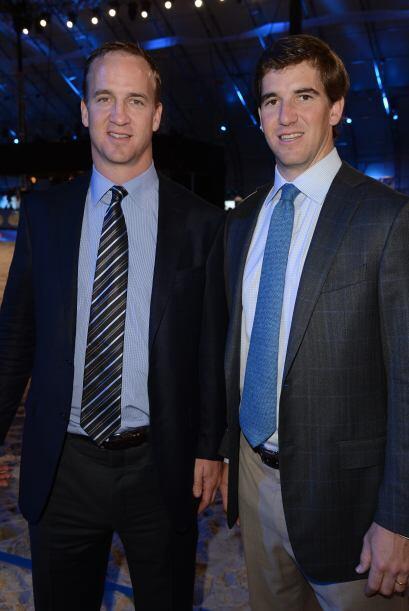 Peyton con su hermano Eli.  Más videos de Chismes aquí.