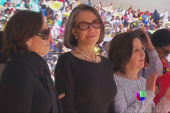Florinda Meza lucía satisfecha ante el impresionante homenaje rendido a...