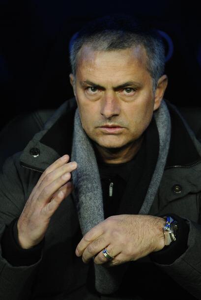 José Mourinho sabía que este duelo podía marcar un punto clave en su bus...