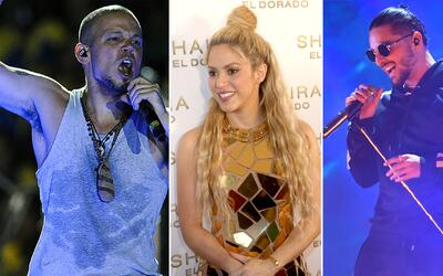 Con Residente, Maluma y Shakira a la cabeza: estos son los nominados a L...