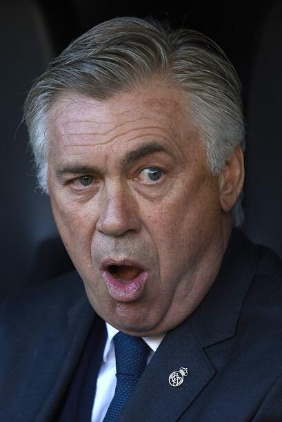 Mientras que Carlo Ancelotti se mostraba sorprendido por la entrega de '...