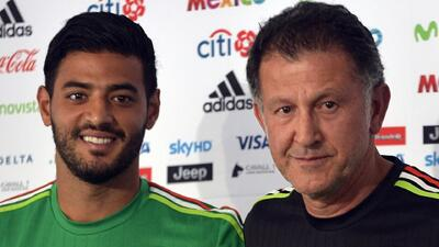 Carlos Vela habló de Osorio y de lo que sintió al no jugar ante Alemania en la Confederaciones
