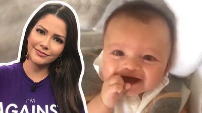 """Ana Patricia se derrite de amor con la """"risa que parece llanto"""" de su bebé Gael"""