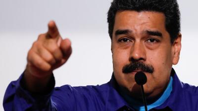 El presidente venezolano, Nicolás Maduro, parte con todas las ven...