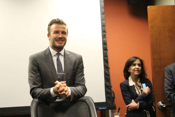 David Beckham, el estadio que propone quita la respiración, sirviendo de...