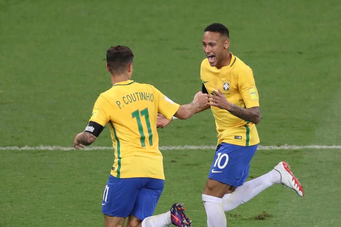 Brasil estuvo de fiesta en el clásico contra Argentina AP_420391637021.jpg