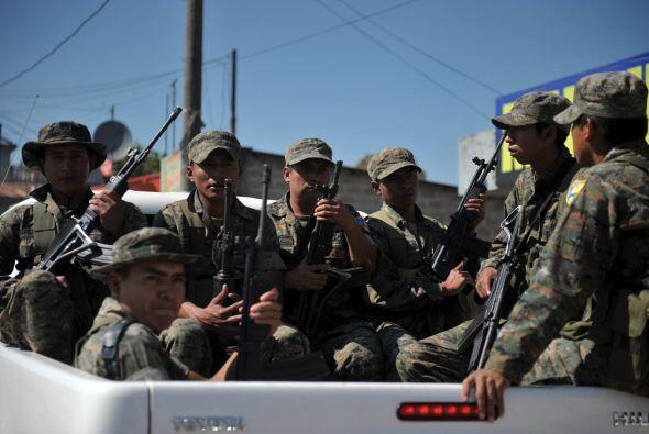La presencia de los Zetas en Guatemala ya está más que comprobada.