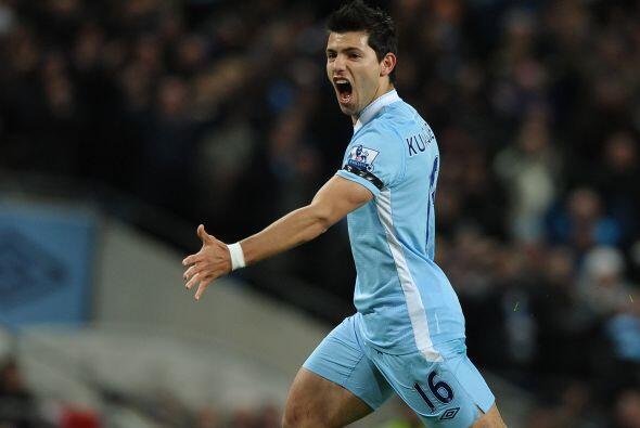 Los 'Citizens' no tardaron mucho en irse al frente con gol de Sergio Agü...
