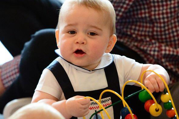 El primogénito de los duques de Cambridge es como cualquier otro...