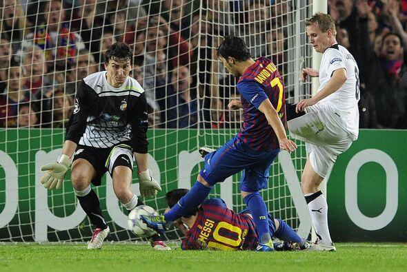 Cuando el partido se terminaba llegó el segundo y último gol del partido...