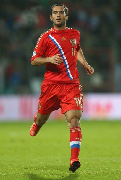Aleksandr Kerzhakov.- El goleador del equipo, 24 anotaciones en 77 parti...