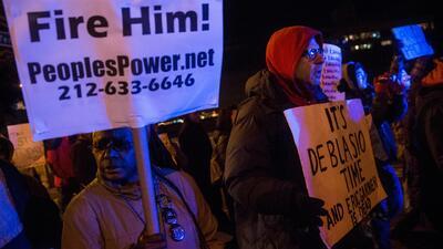 Protestas en Nueva York por el caso Eric Garner