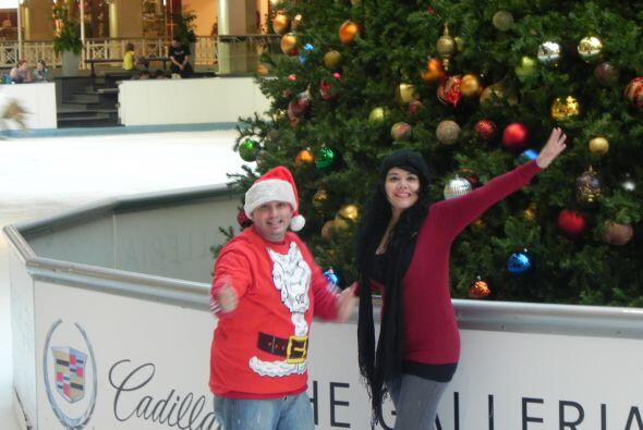 Tocó el turno de Ana y ella también nos contó como eran sus navidades.