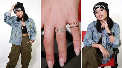 EN FOTOS: La historia detrás del misterioso anillo de Becky G