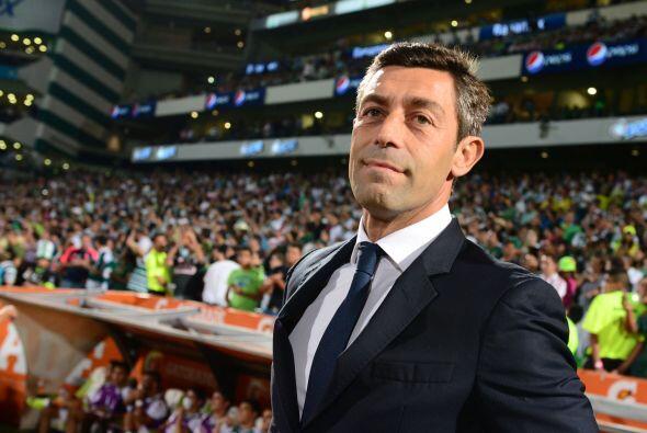 Respecto a los entrenadores, Pedro Caixinha se ha quedado en la orilla d...