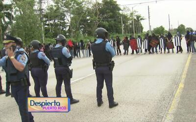 Estudiantes de la UPR exigen una reunión con el gobernador Ricardo Rosselló