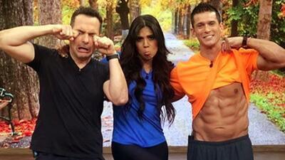 """Quieren """"cuadritos"""": Carlos y Francisca probaron esta rutina que promete dejar el abdomen marcado en 30 días"""