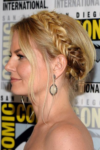O en forma de diadema como Jennifer Morrison.