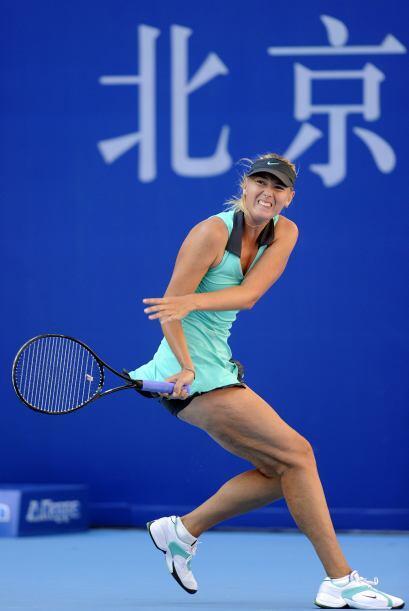Maria Sharapova se presentó con una victoria en el Abierto de China al d...