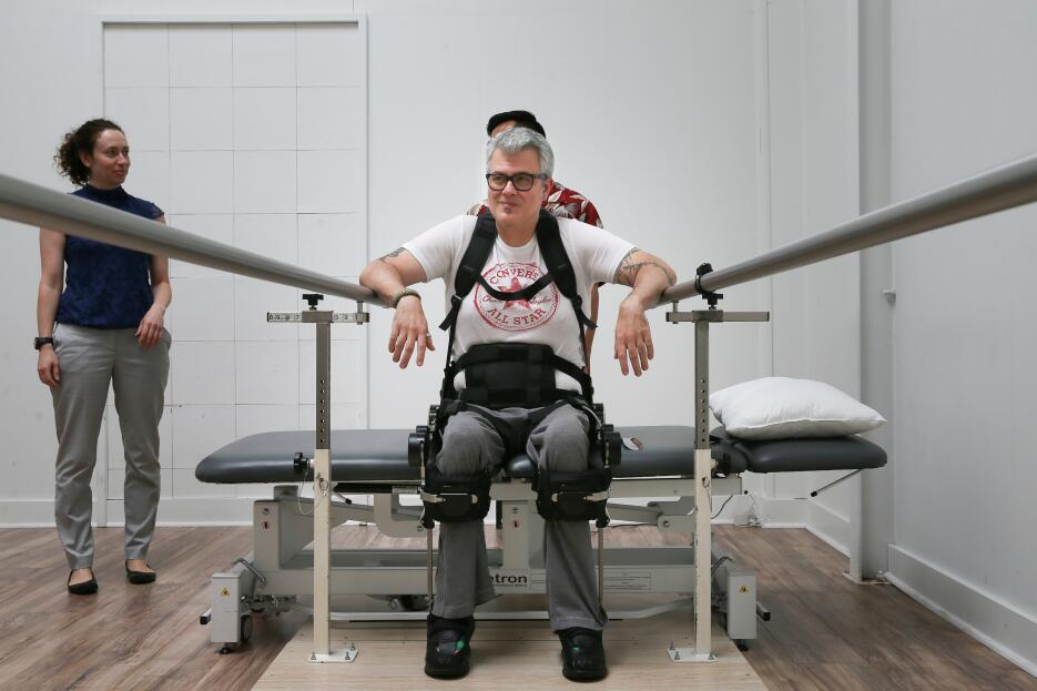 salud robot paralitico
