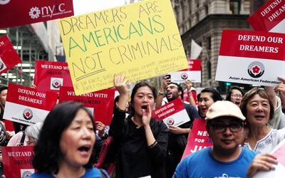 El presidente Trump canceló DACA el pasado septiembre y dej&oacut...