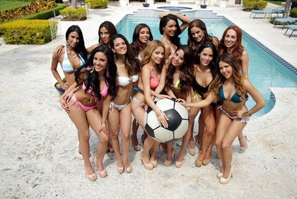 Nuestras 12 finalistas se unieron a la emoción que vive Univision por se...