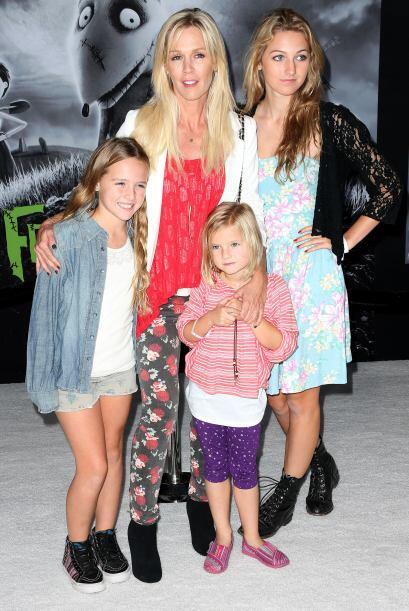 Con él tiene tres hijas: Luca, Lola y Fiona. Tristemente, en marzo de 20...